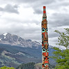 Two Brothers Totem Pole - Jasper
