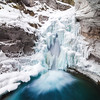 Lower Falls at Johnston Canyon, Banff National Park, Alberta