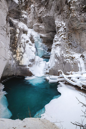 Jonhston Canyon, Banff National Park, Alberta