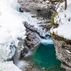 Falls at Johnston Canyon, Banff National Park, Alberta