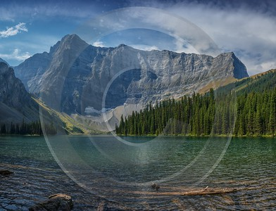 Rawson Lake Kananaskis Canmore Alberta Canada Panoramic Landscape Sky Sea Stock Photos Fine Arts - 017169 - 29-08-2015 - 12264x9395 Pixel