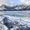 Lac des Arcs in the Canadian Rockies, Alberta