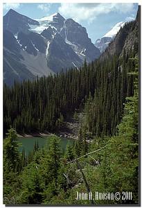 1464_1981005-R5-C1-NCS-Alberta.jpg : Mirror Lake [above Lake Louise], Banff National Park, Alberta