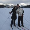 Kaisa & Dano on Skis