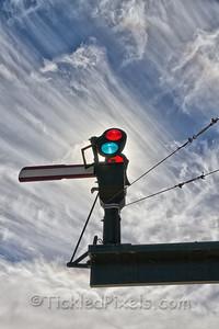 Semaphore Train Signal