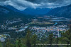 Town of Banff from Mt. Norquay Road