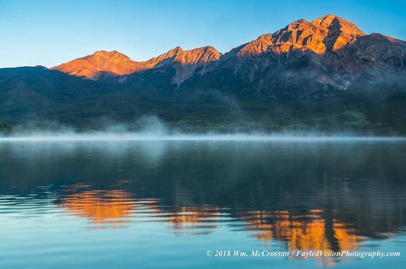 Pyramid Lake & Mountain
