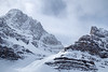 Banff, Icefields - Crowfoot Glacier in the winter