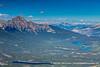 Cabin, Patricia & Pyrimid Lakes & Pyrimid Mountain