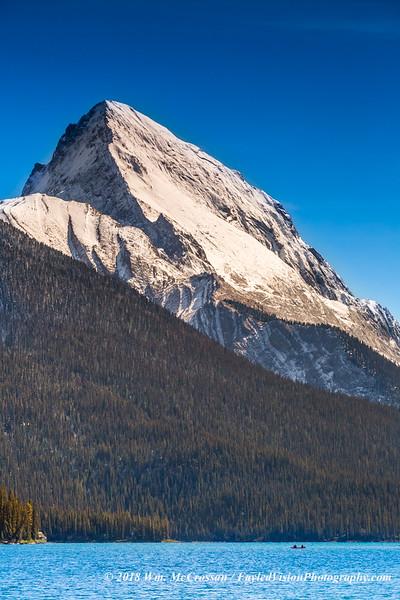Samson Peak & Maligne Lake