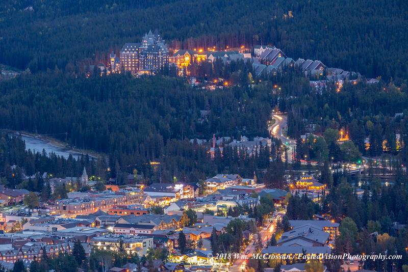 Banff Springs Hotel & Town of Banff