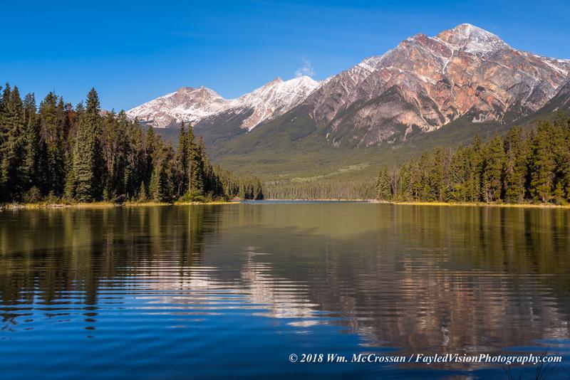 Pyramid Lake & Pyramid Mountain