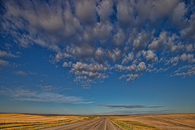 A View of the Canadian Prairies - Alberta