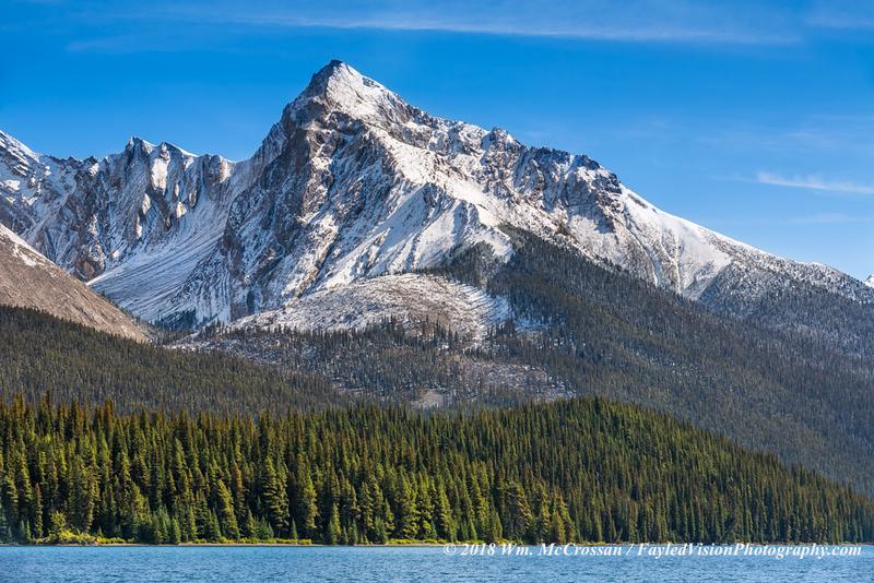 Leah Peak & Maligne Lake
