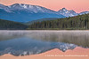 Dawn on Patricia Lake