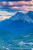 Mt Rundle & Banff Springs Hotel