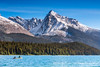 Leah Peak & Maligne Lake