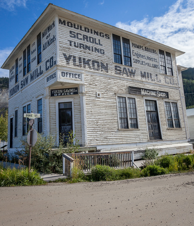 Dawson City Saw Mill