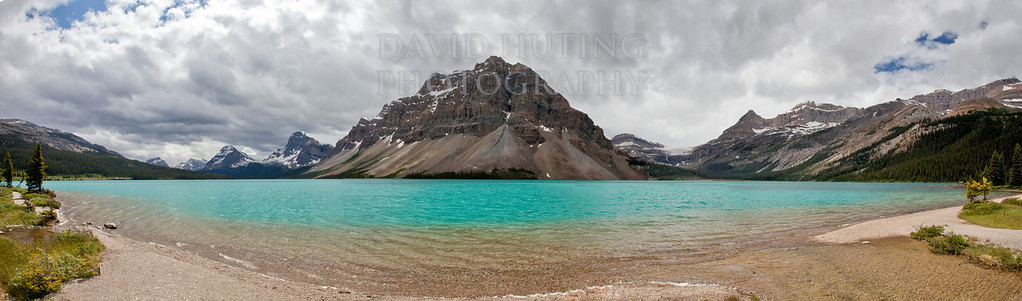 Bow Lake Pano