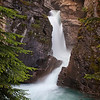 Lower Falls, Johnston Canyon vert