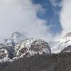 Lake Louise Mountains Zoomed