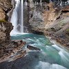 Upper Falls Flowing, Johnston Canyon