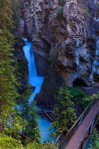 Johnston Canyon Depths