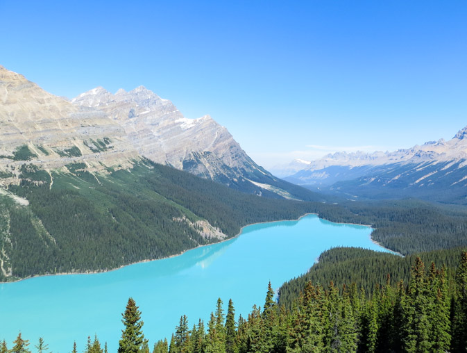 my favorite views of banff national park