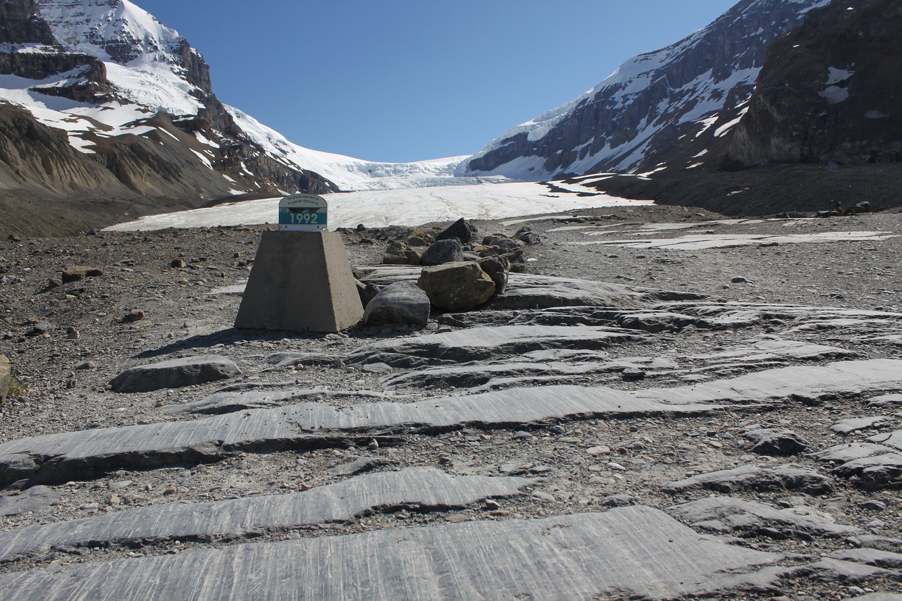 Athabasca Glacier, Columbia Icefields