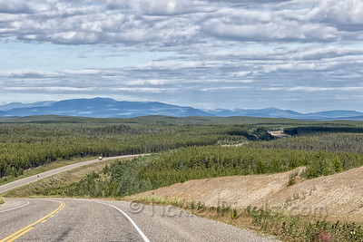 Alaska Highway - NW of Upper Liard