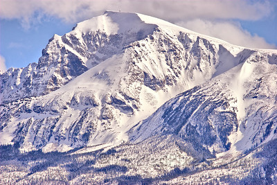 North Face of Canoe Mountain