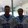 Chip & Matt at Hockey