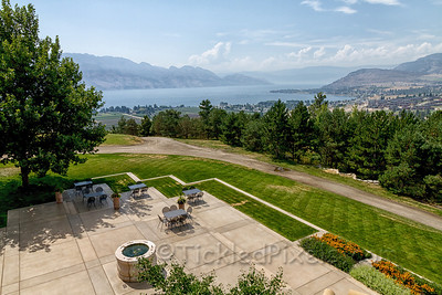 Patio Overlooking Lake Okanagan