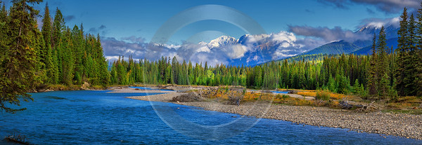 Kootenay River British Columbia Canada Panoramic Landscape Photography Rock - 017386 - 04-09-2015 - 21699x7495 Pixel