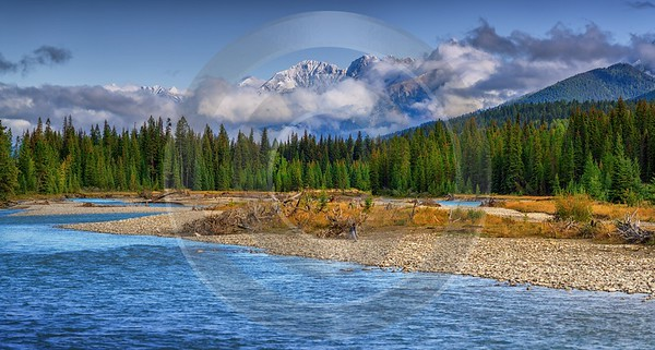 Kootenay River British Columbia Canada Panoramic Landscape Photography Photo Fine Art Prints Lake - 017401 - 04-09-2015 - 12935x6923 Pixel
