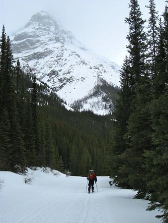 Lake O'Hara Backcountry Skiing - March 2011