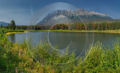 Witney Lake Lucerne British Columbia Canada Panoramic Landscape Forest Summer Prints For Sale - 017144 - 26-08-2015 - 14002x8466 Pixel