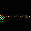 The Olympic Rings in Coal Harbour during the Olympic Games