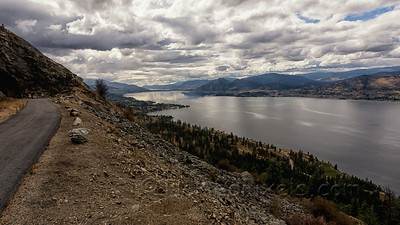 Looking South towards Naramata and Penticton