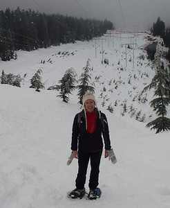 Snowshoeing at Cypress - Januayr 2013