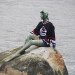 Girl in a Wetsuit Statue – Vancouver, British Columbia – Photo