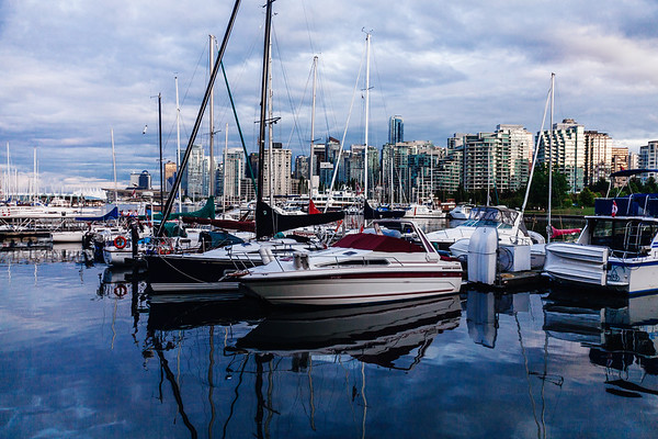 Boats in Vancouver
