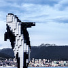 Digital Orca in downotwn Vancouver