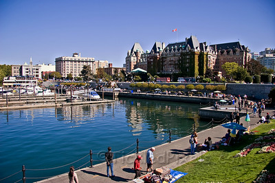 Inner Harbour and the Empress