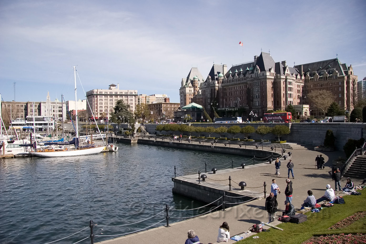 Inner Harbour and Empress Hotel