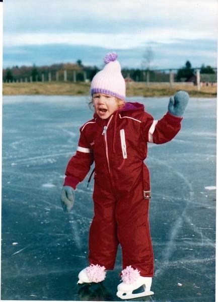 Little Linds skating