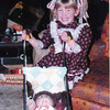 Little Linds and dolly in stroller