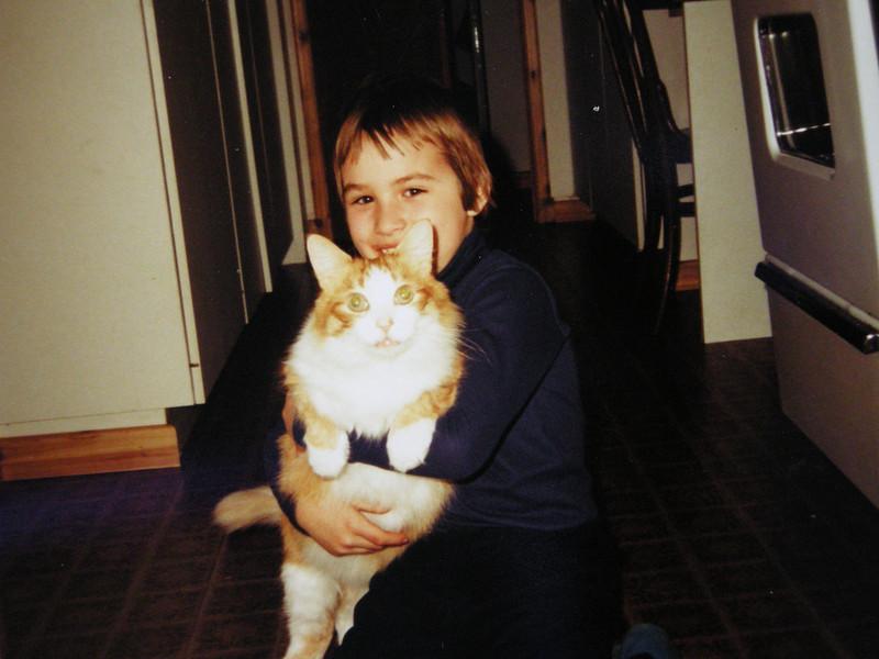 Matt and loved cats