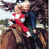 Little Linds on horse