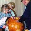 Little Linds and pumpkin